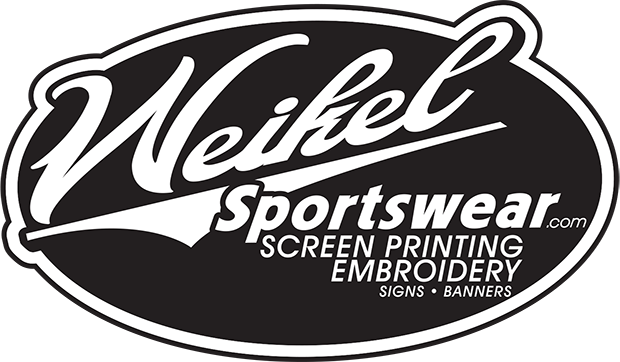 Weikel Sportswear.com Screen Printing Embroidery Signs Banners